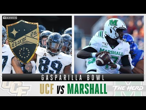 How To Bet The Gasparilla Bowl With Expert Picks: UCF vs Marshall | CBS Sports HQ