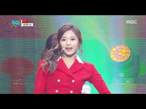 [HOT] TWICE - TT, 트와이스 - 티티 Show Music core 20161224