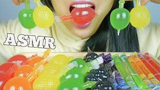 ASMR POPULAR TikTok  FRUIT JELLO + NOODLE JELLO (EATING SOUNDS) NO TALKING   SAS-ASMR