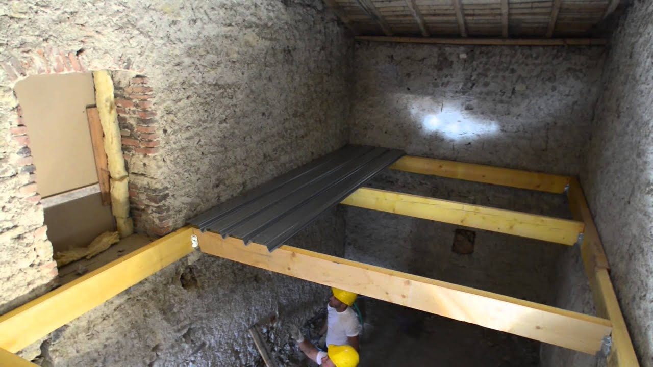 plancher m tallique sec woodeo bacacier youtube. Black Bedroom Furniture Sets. Home Design Ideas