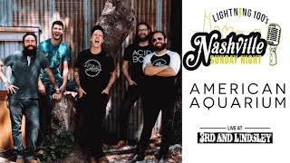 American Aquarium - live concert at Nashville Sunday Night