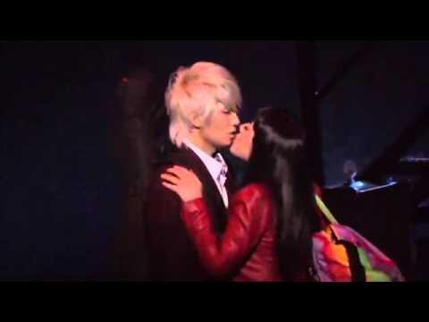 tiffany snsd kiss with Jungmo trax