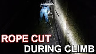 CLIMBING DISASTER DEEP UNDERGROUND – Flying the Drone in Abandoned Bunker Tunnels