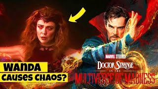 Doctor Strange In The Multiverse Of Madness Plot Leak | Main Villain | Scarlett Witch | Multiverse