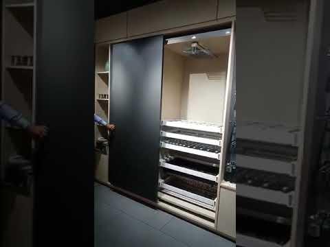MODA Germany Wardrobe Sliding - INLINE FLUSH DOOR FITTING