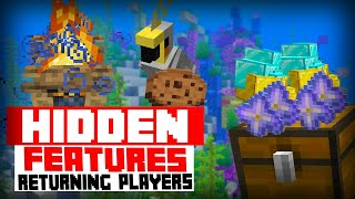 20 Things you didn't know about Minecraft ( Hidden Features )