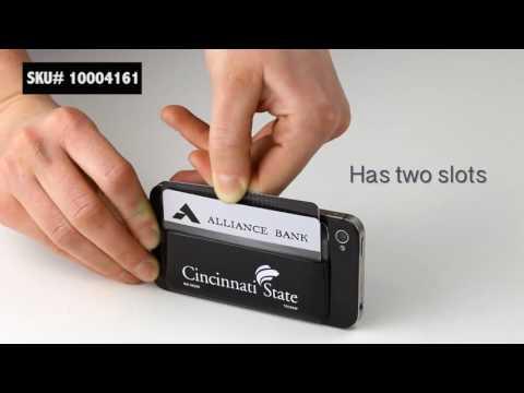 2 Slot Adhesive Cell Phone Custom Wallets   10004161