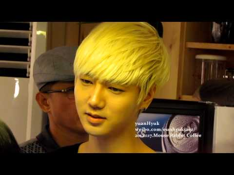 [Yesung Focus]121117 Mouse Rabbit Coffee - Handsome cashier~ xD