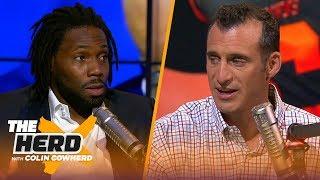 Antonio Cromartie talks NFL preseason Week 1, says Daniel Jones should learn from Eli | THE HERD