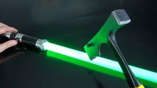 What's inside a $4 vs $400 Lightsaber?