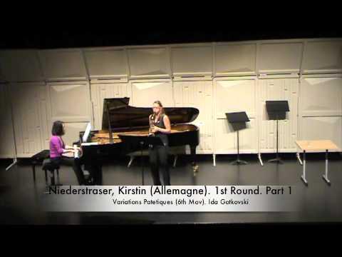 Niederstraser, Kirstin Allemagne 1st Round Part 1