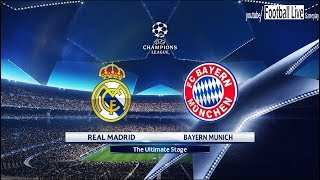 PES 2018 | Real Madrid vs Bayern Munich | UEFA Champions League (UCL) | Gameplay PC