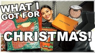 WHAT I GOT FOR CHRISTMAS 2017 | Roxette Arisa
