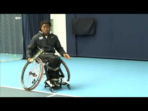 Anyone for Wheelchair Tennis?