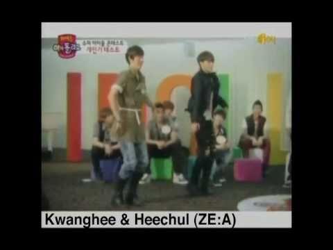 kpop idols imitating nu abo