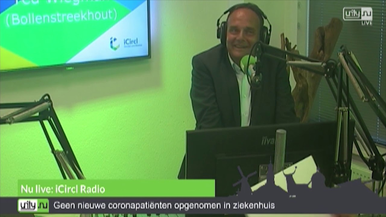 Ted Wiegman van SYMACO advies in iCircl Radio