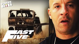 Fast Five - Paul Walker and Jordana Brewster epic desert scene OFFICIAL HD VIDEO