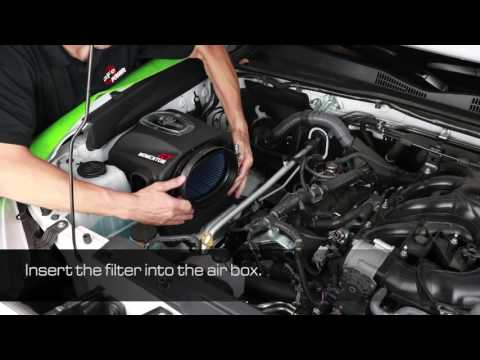 How To Install aFe Power 2016 Toyota Tacoma V6-3.5L Momentum GT Intake System 54-76005