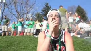 Video Think Your School Goes Hard WVU On St. Patricks Day 2012! (College Party)