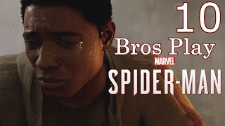 Bros Play: Marvel's Spider-Man (Spectacular Mode) Part 10 - Award Ceremony Gone BAD