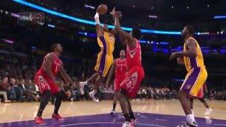 Kobe Bryant Jams on Clint Capela!