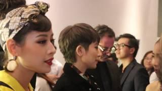 Gil Lê và Chi Pu bắn tiếng anh như gió với bạn trai ngoại quốc