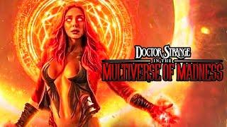 Doctor Strange 2 Scarlet Witch PLOT! Unspeakable EVIL RELEASED & Wandavision Tie In