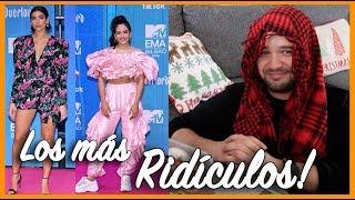MTV EMA 2018: Mejores y PEORES vestidos!! // gwabir