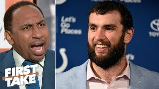Blame Andrew Luck's retirement on Colts owner Jim Irsay - Stephen A. | First Take