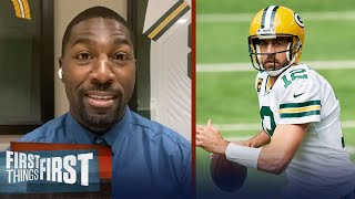 Greg Jennings isn't buying Packers drafted Love to fire up Aaron Rodgers | NFL | FIRST THINGS FIRST