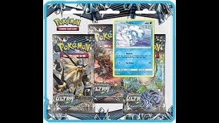 New Pokemon Ultra Prism Three Pack Blister!!!