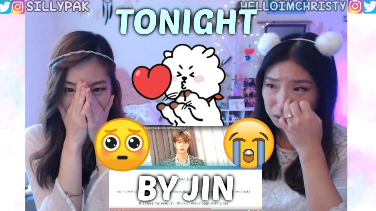 [BTS FESTA 2019] TONIGHT 이 밤 by JIN (BTS) | SISTERS REACTION