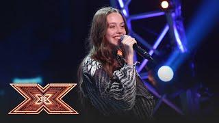 "Birdy - ""Not About Angels"". Vezi interpretarea Francescăi Hojda, la ""X Factor""!"