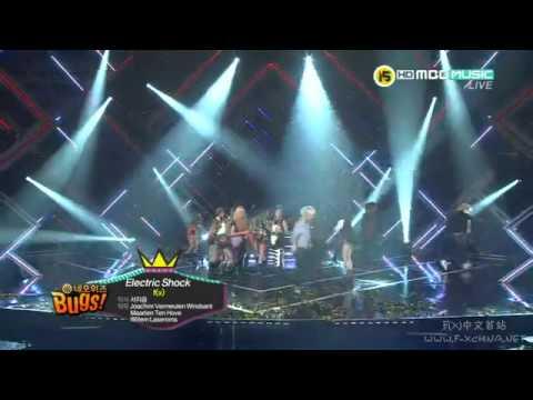 [中字] 120626 f(x) - Winner 一位 @ MBC Show Champion