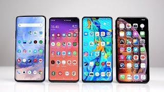 OnePlus 7 Pro vs Samsung Galaxy S10+ vs Huawei P30 Pro vs Apple iPhone Xs Max: Benchmark | SwagTab