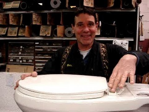How To Fix A Loose Toilet Seat Mr Hardware Youtube