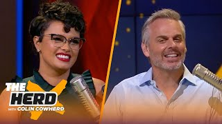Colin Cowherd decides if he's IN or OUT on 2-0 teams | NFL | THE HERD