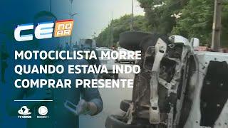 Motociclista morre quando ia comprar presente de dia das mães para esposa
