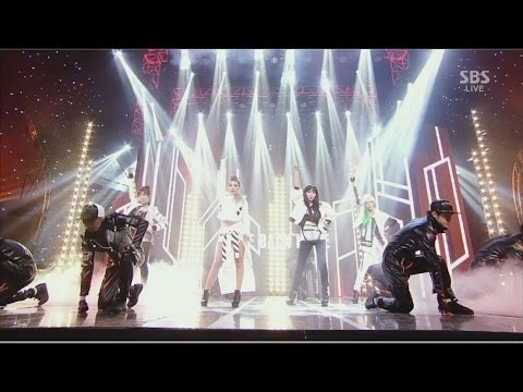 2NE1-'COME BACK HOME' 0323 SBS Inkigayo