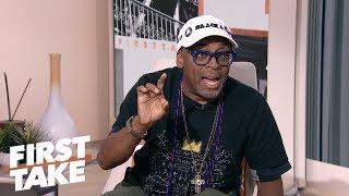 Spike Lee: Colin Kaepernick ad 'courageous' of Nike | First Take | ESPN
