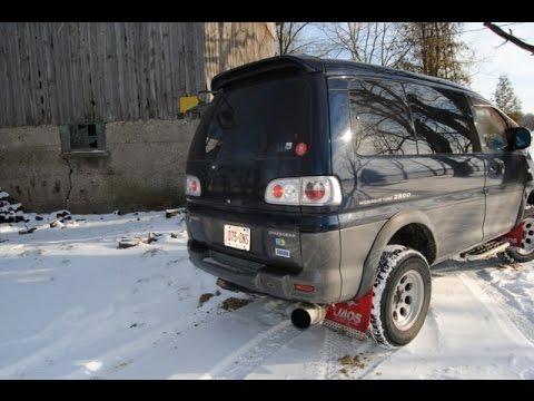 1996 Mitsubishi Delica Spacegear Exceed Pe8w 4x4 Diesel