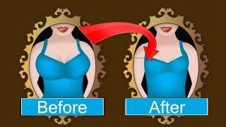 How to Reduce Breast Size at home | स्तन का आकार कैसे घटाएं | Yoga & home remedies