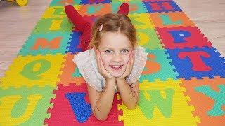 ABC Song +More Nursery Rhymes & Kids Songs - LETSGOMARTIN