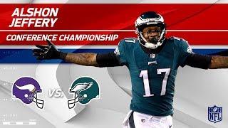 Alshon Jeffery Highlights | Vikings vs. Eagles | NFC Championship Player HLs