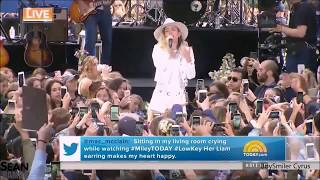 Miley Cyrus Live on Today Show 2017 (FULL)
