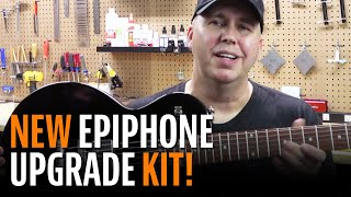 Watch the Trade Secrets Video, Phil McKnight Shows Off Our New Epiphone Hardware and Electronics Upgrade Kit