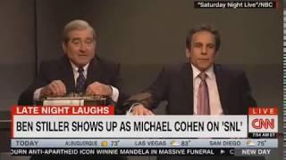 SNL  Robert De Niro, Ben Stiller reenact 'Meet the Parents' lie detector Cohen Mueller parody
