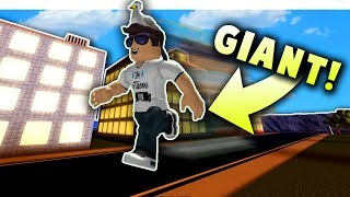 GIANT ON SPRINTING SIMULATOR 2! *AWESOME* | Roblox