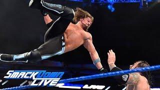 AJ Styles vs. Baron Corbin: SmackDown LIVE, Feb. 20, 2018