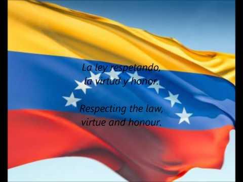 Venezuelan National Anthem - ''Gloria Al Bravo Pueblo'' (ES/EN)